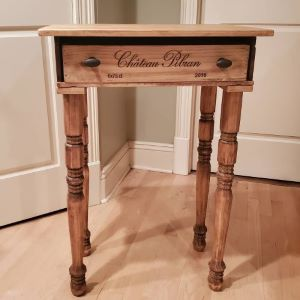 Wine Box custom desk